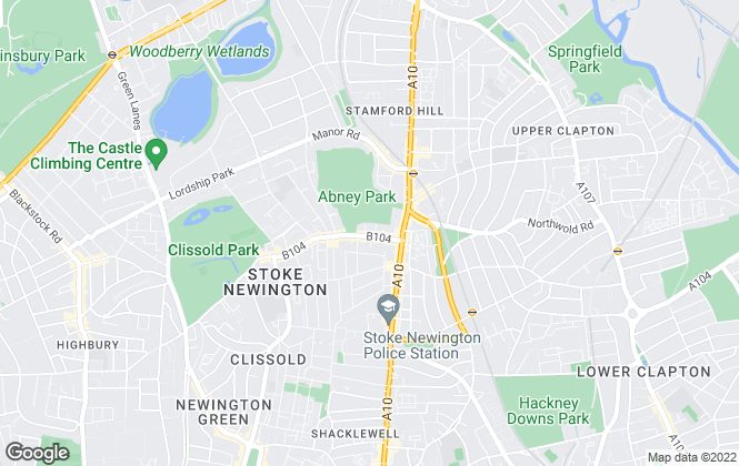 Map for Oakwood, Church Street