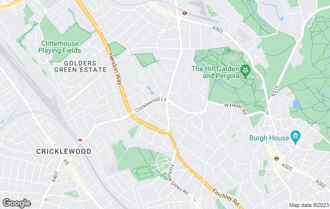 Map for William Nelhams & Co , London
