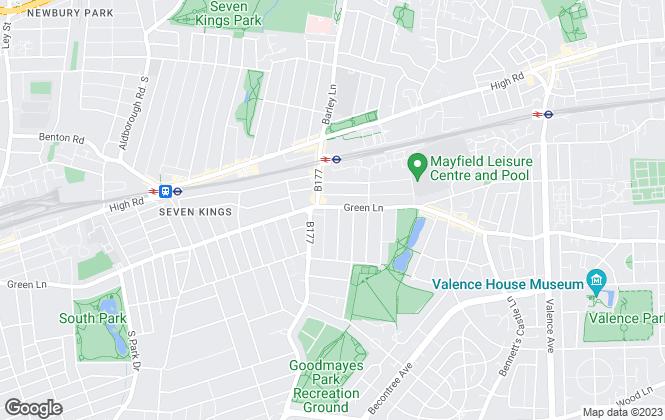 Map for Delta Dwellings Ltd , Ilford