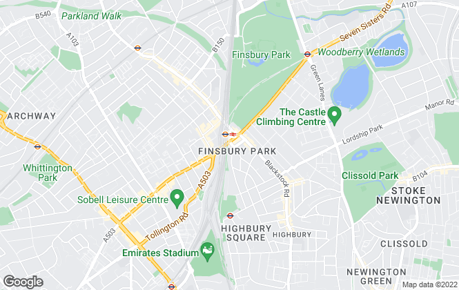 Map for Fine & Country, London
