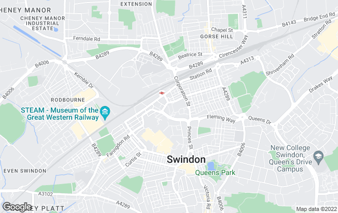 Map for Smethurst Property Consultants Limited, Swindon