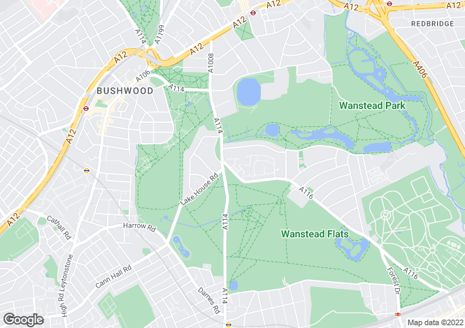 Map for Queenswood Gardens
