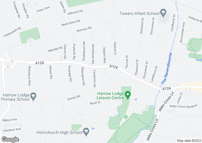 Map for Hornchurch
