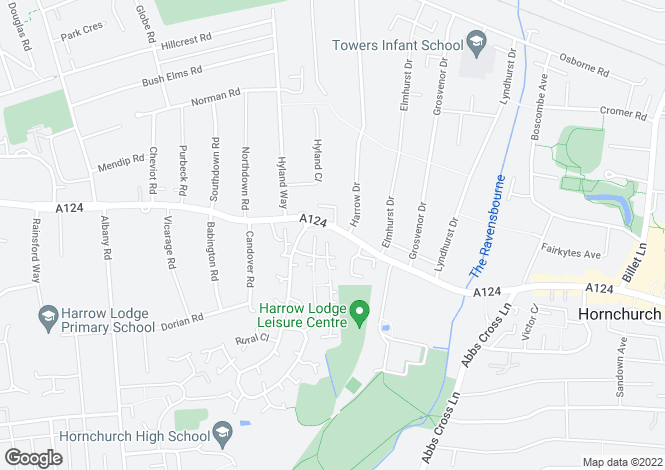 Map for Priory Mews, Hornchurch, RM11 1DT