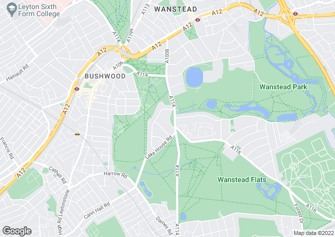 Map for Wanstead