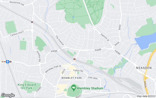 Map for Grey & Co, Wembley Park