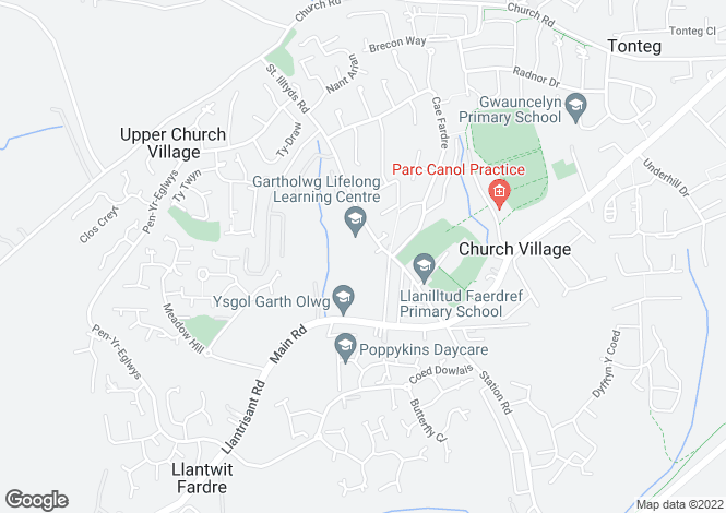 Map for Sold House Prices