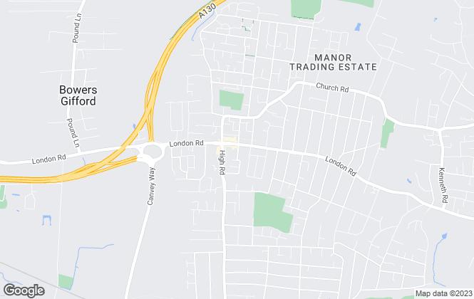Map for Fisks Ltd, Benfleet