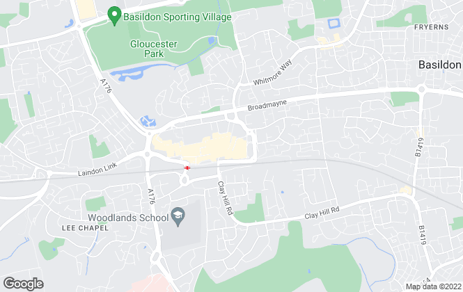 Map for Abbotts Lettings, Basildon