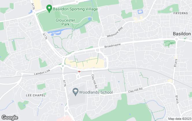 Map for Temme English, Basildon