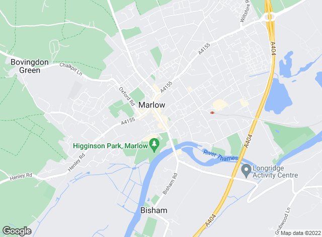 Map for Hamptons International Lettings, Marlow - Lettings