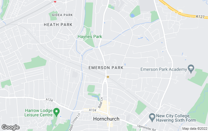 Map for Chalk Street Estates , Havering