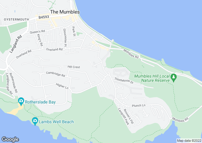 Map for Western Close,