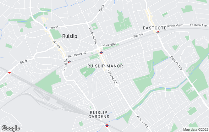 Map for Lawrence Rand, Ruislip