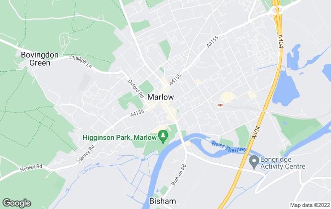 Map for Andrew Milsom Lettings, Marlow - Lettings