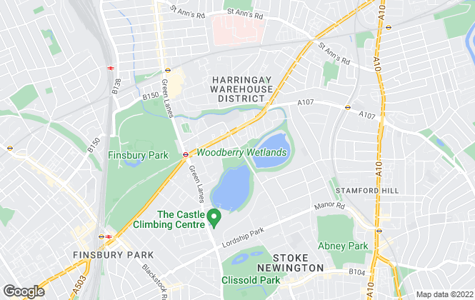 Map for Cookestates, Tottenham