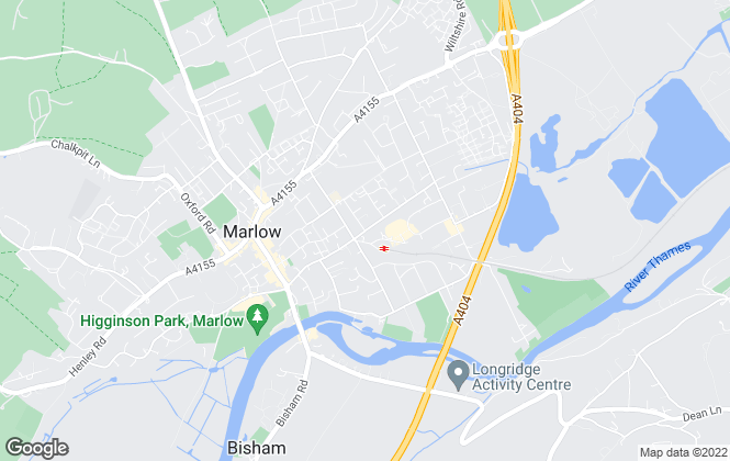 Map for Deriaz Slater, Marlow