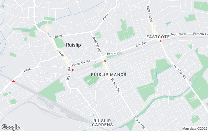 Map for Gibbs Gillespie, Ruislip Manor