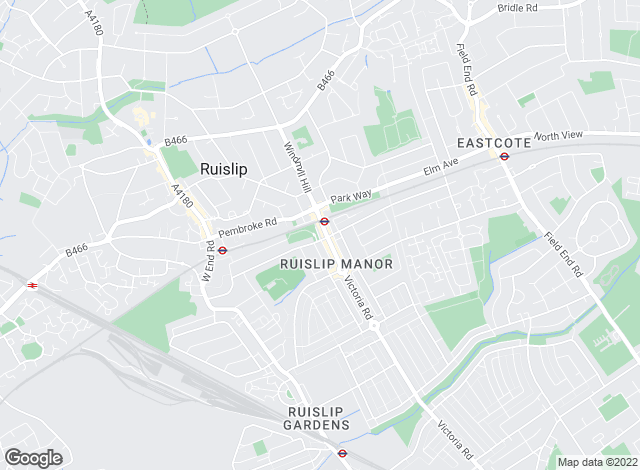 Map for Martin & Co, Ruislip