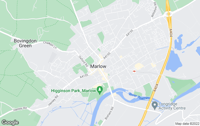 Map for Barker Stone, Marlow