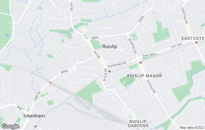 Map for Gibbs Gillespie, Ruislip  Sales