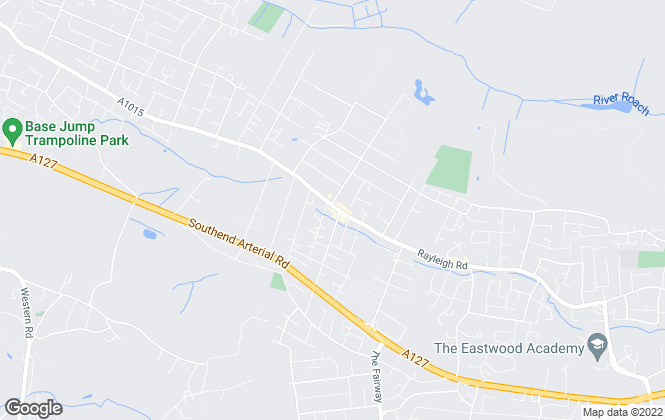 Map for Blackshaw Homes, Eastwood
