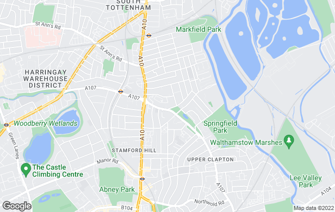 Map for Countryside Partnerships North London