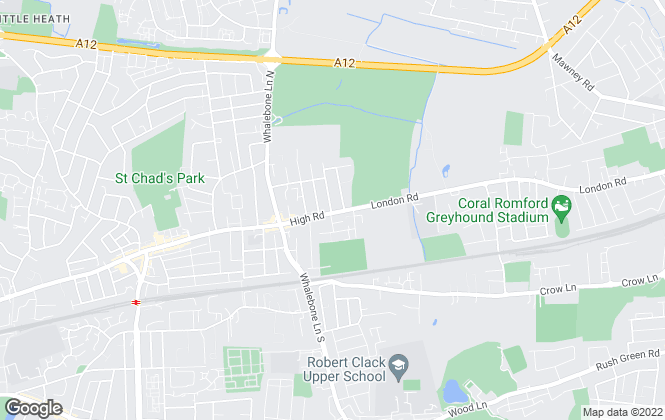 Map for Vistaara Property Solutions Ltd, Chadwell Heath