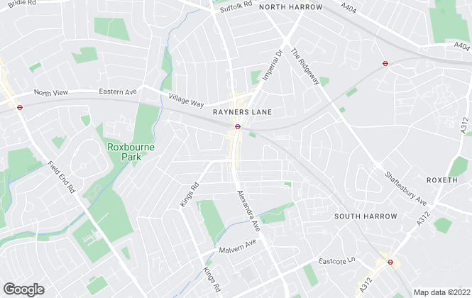 Map for Magicbrick Estate Agent, Harrow