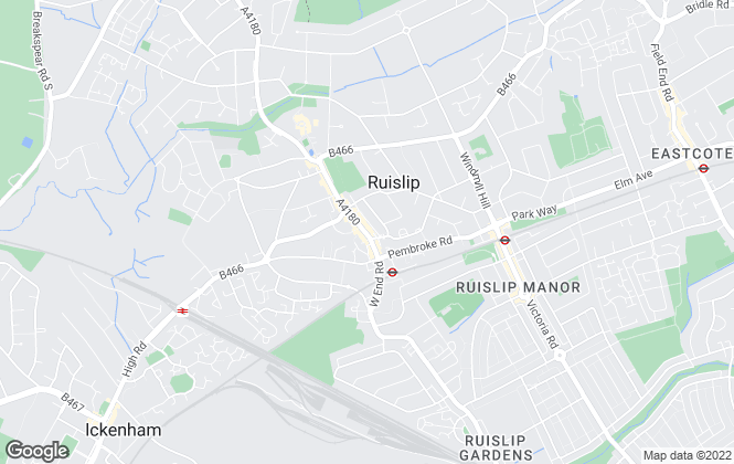 Map for Austin Residential, Ruislip