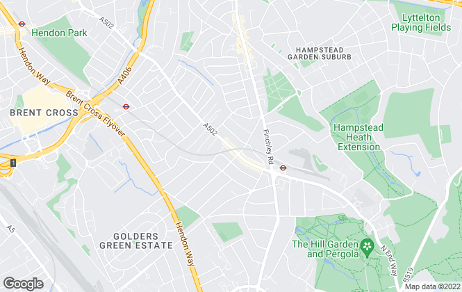 Map for Kingsleys Estates, Golders Green - Lettings