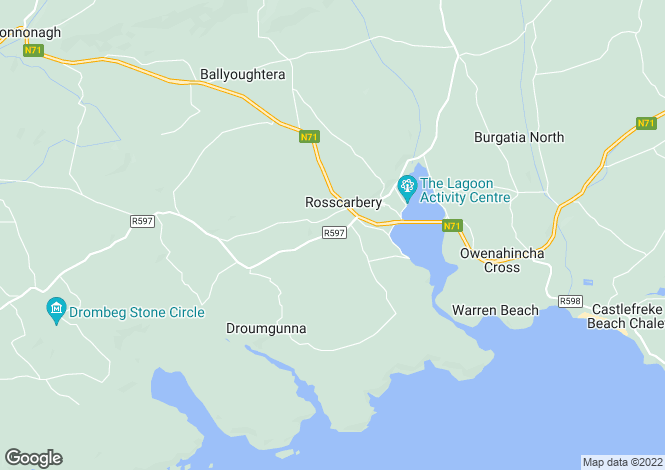 Map for Ross Carbery, Cork