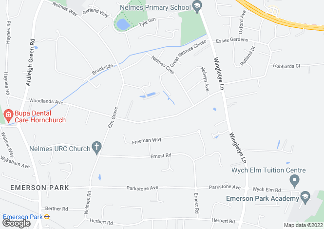 Map for Sylvan Avenue,