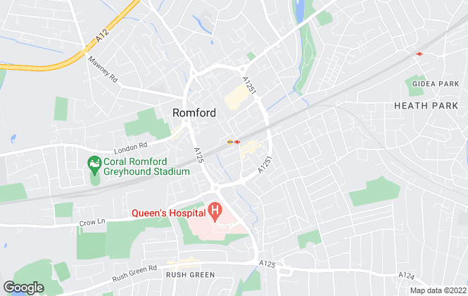 Map for Bairstow Eves Lettings, Romford