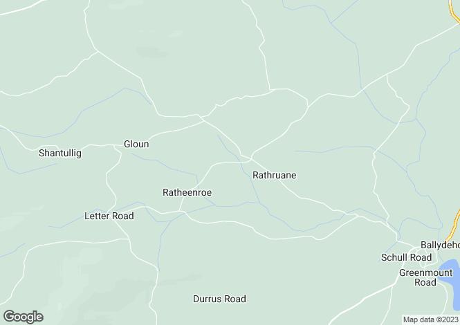 Map for Cusovinna, Ballydehob,   Cork West