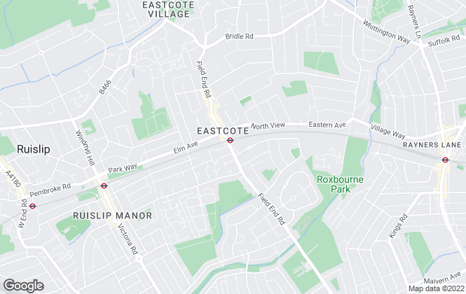 Map for Reel Estates, Eastcote