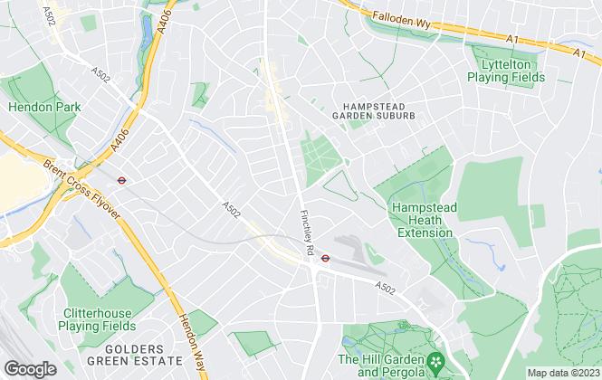Map for Glentree Estates Ltd, London
