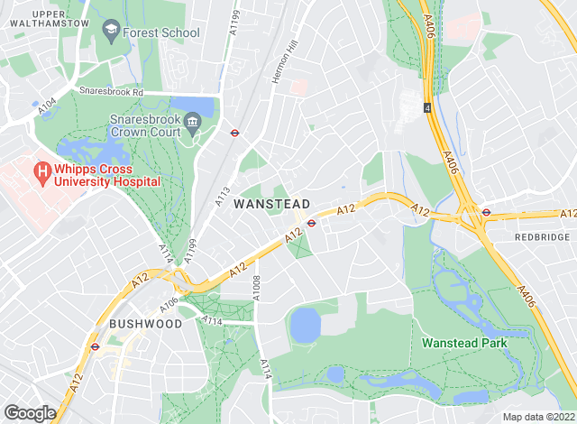 Map for Petty Son & Prestwich Ltd , Wanstead