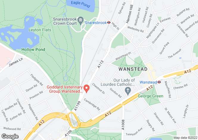 Map for New Wanstead