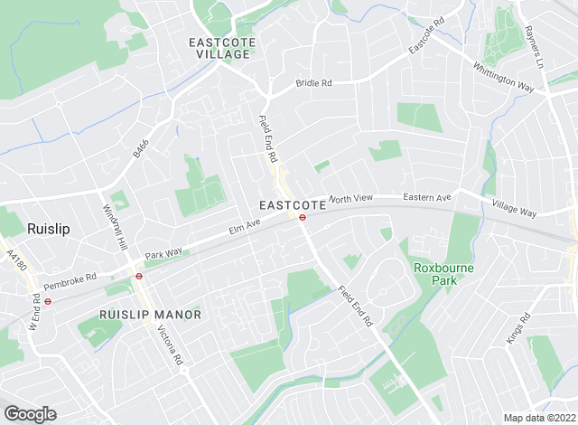 Map for Robert Cooper & Co, Eastcote