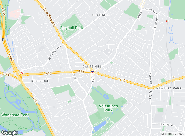 Map for Silver Service Estate Agents, Gants Hill