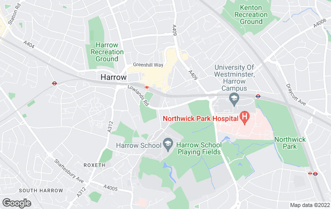 Map for Empire Chase Estate Agent, Harrow