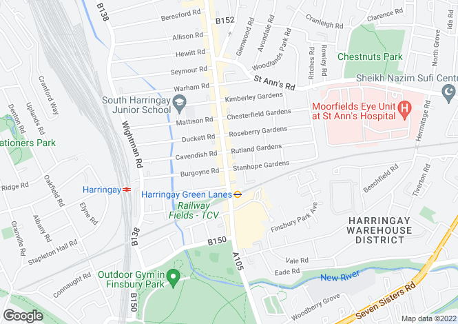 Map for Grand Parade,