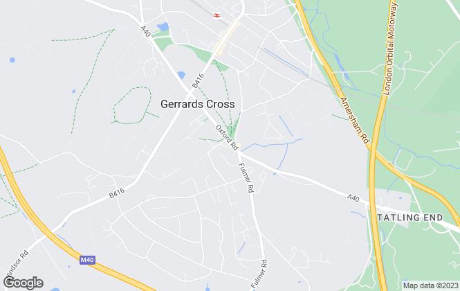 Map for TrevorKent.Com, Gerrards Cross