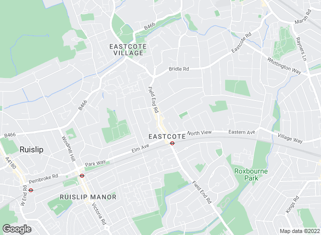 Map for Bennett Holmes, Eastcote, Pinner - Sales