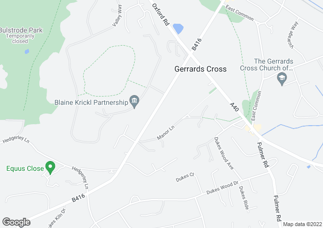 Map for Windsor Road, Gerrards Cross, SL9