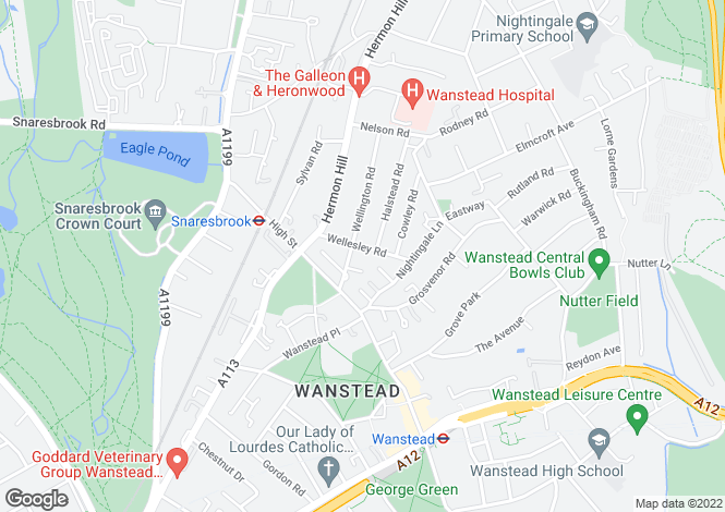 Map for Wellesley Road, LONDON