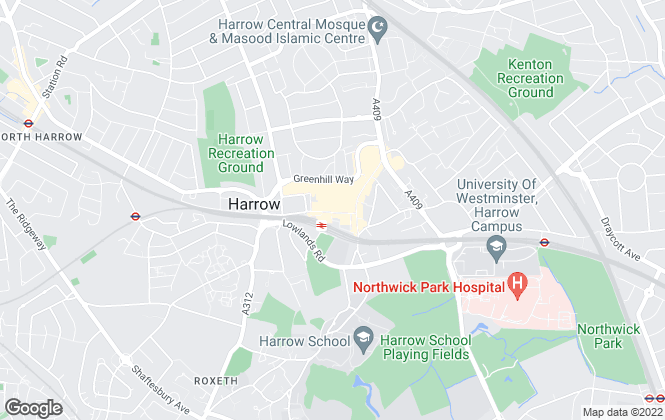 Map for Ellis & Co, Harrow