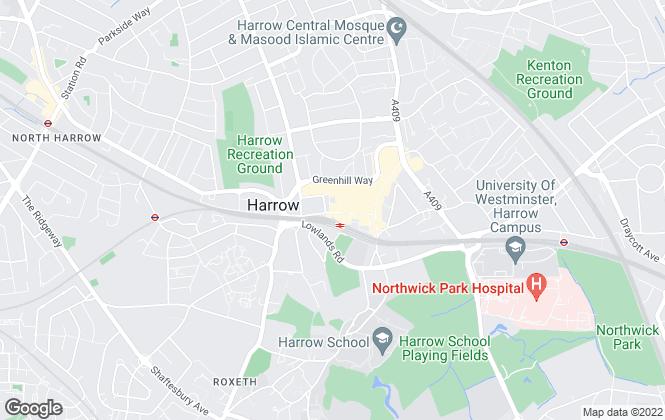 Map for Ellis & Co, Harrow