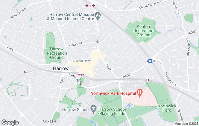 Map for Chamberlain Commercial (UK) Ltd, Middlesex